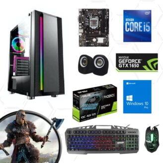 Cpu gamer i5 10400f 10ma 1650 - 1