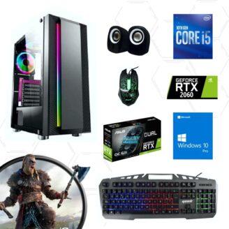 Cpu gamer i5 10400f 10ma 2060 - 1