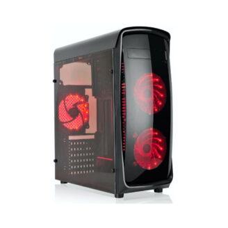case gamer rojo - 2