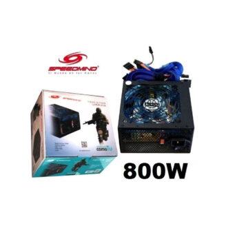 fuente de poder gamer speedmind 800w - 1