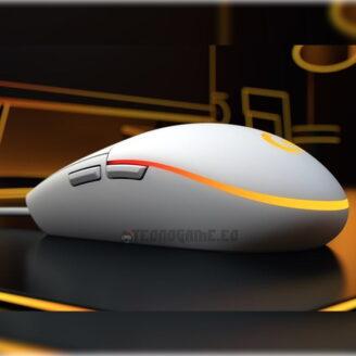 mouse gamer logitech g203 blanco - 2