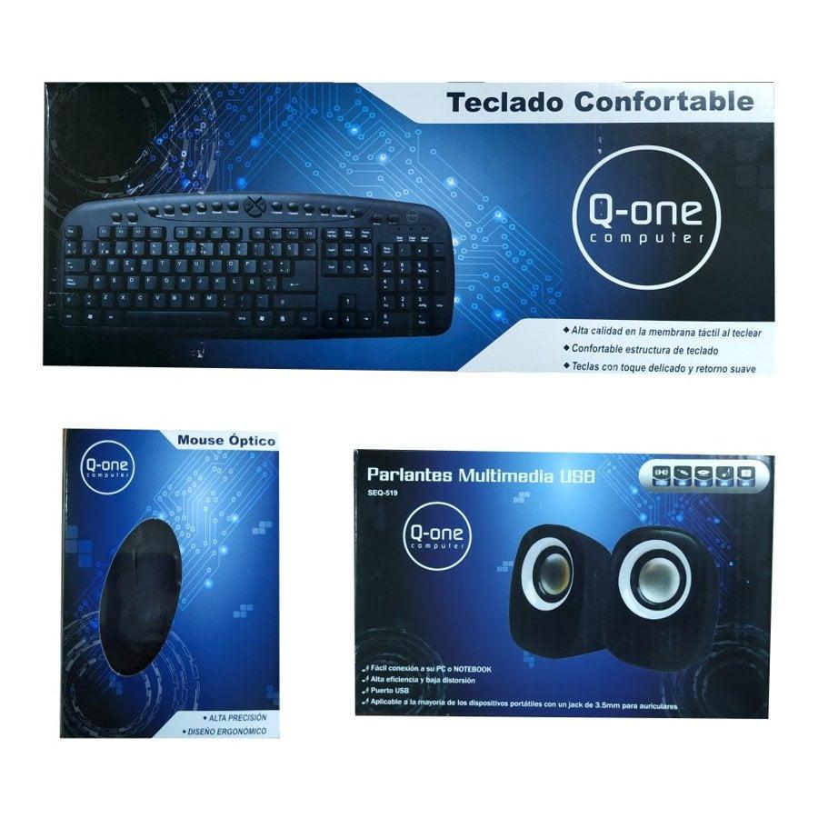 mouse teclado parlantes acc
