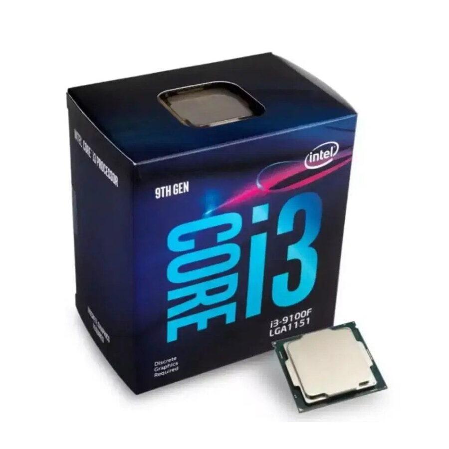 procesador core i3 9100f - 3