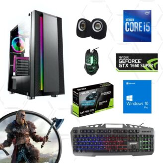 Cpu gamer i5 10400f 10ma 1660 Super - 1