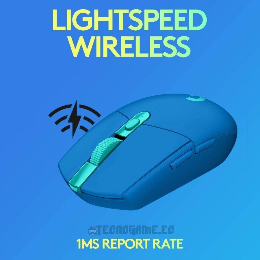Mouse gamer logitech G305 azul - 1