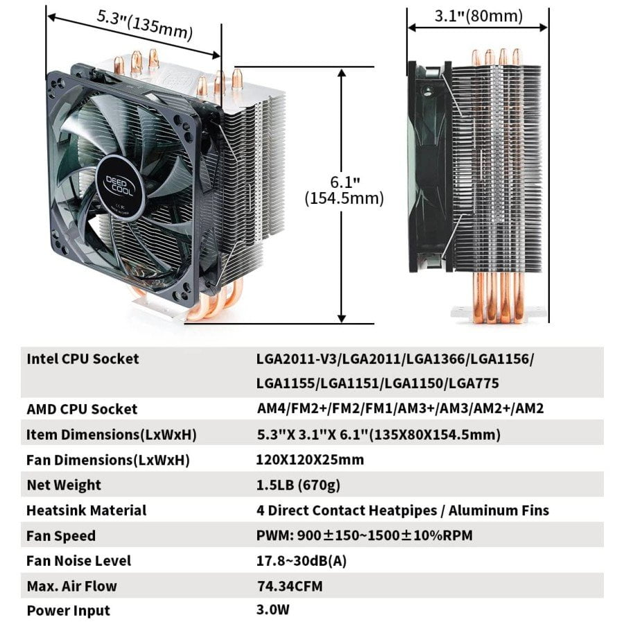deepcool gammaxx 400 - 2