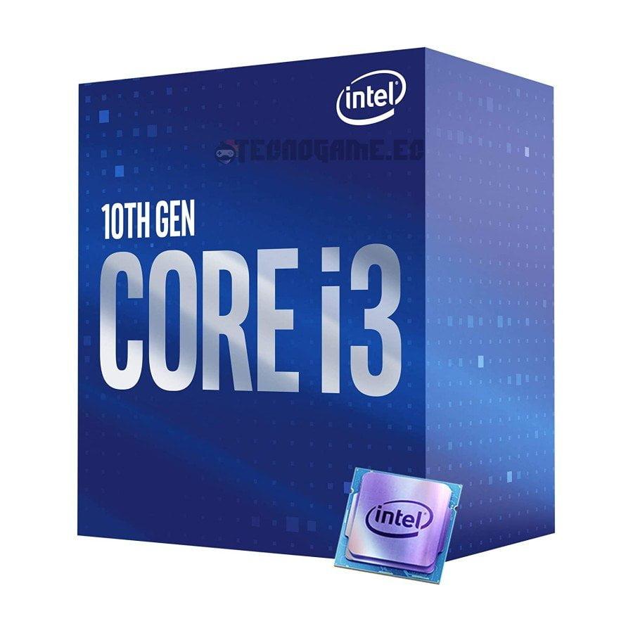 procesador core i3 10100 - 2
