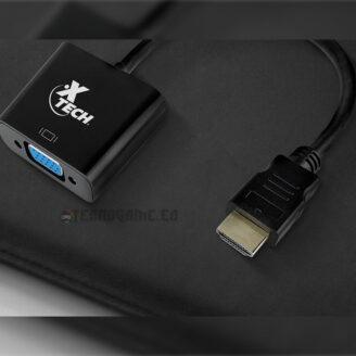 Adap. HDMI a VGA Xtexh XTC-363 - 3