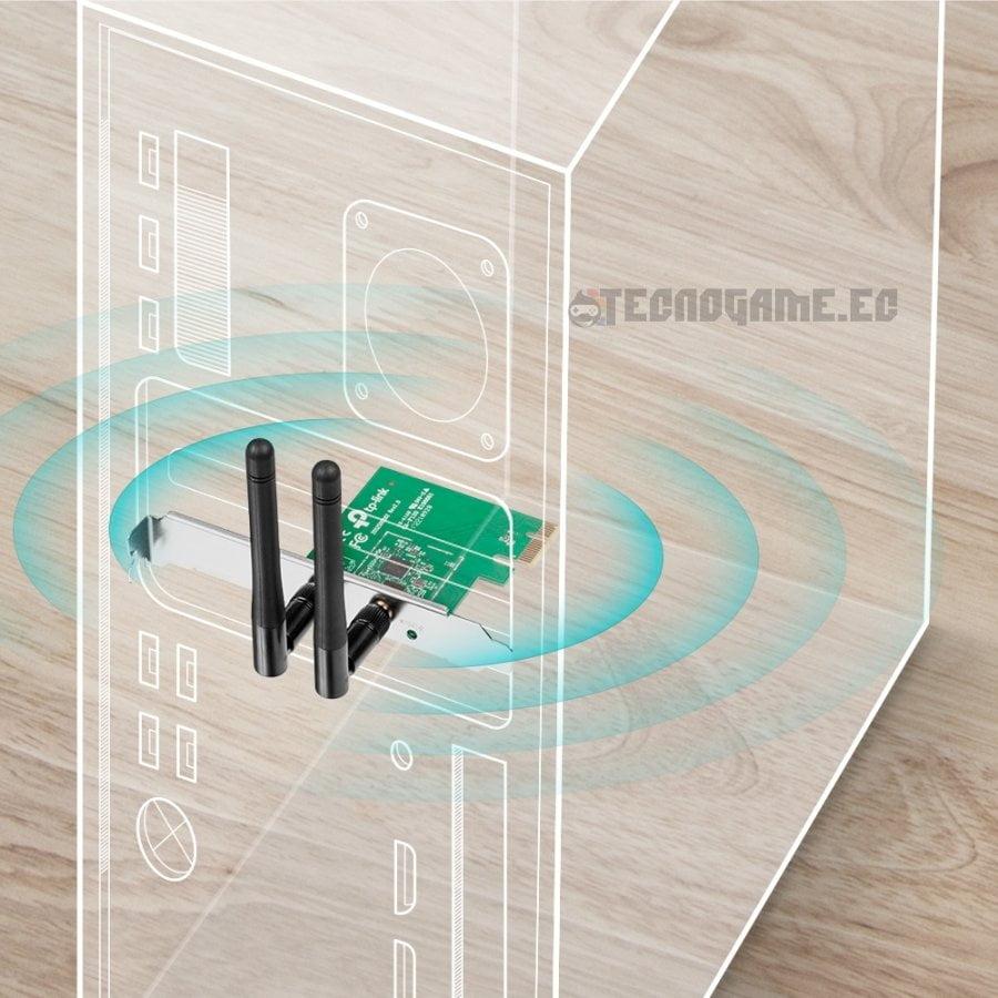 Adaptador Wifi PCI E WN881ND - 2