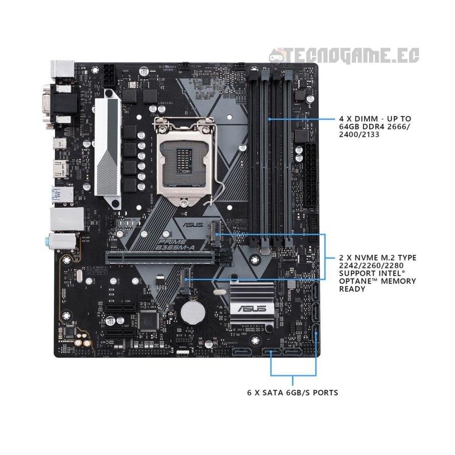 Asus Prime b365m-a - 3