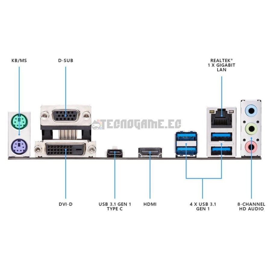 Asus Prime b365m-a - 4