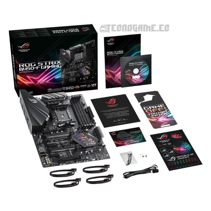 Asus Rog strix b450-f - 2