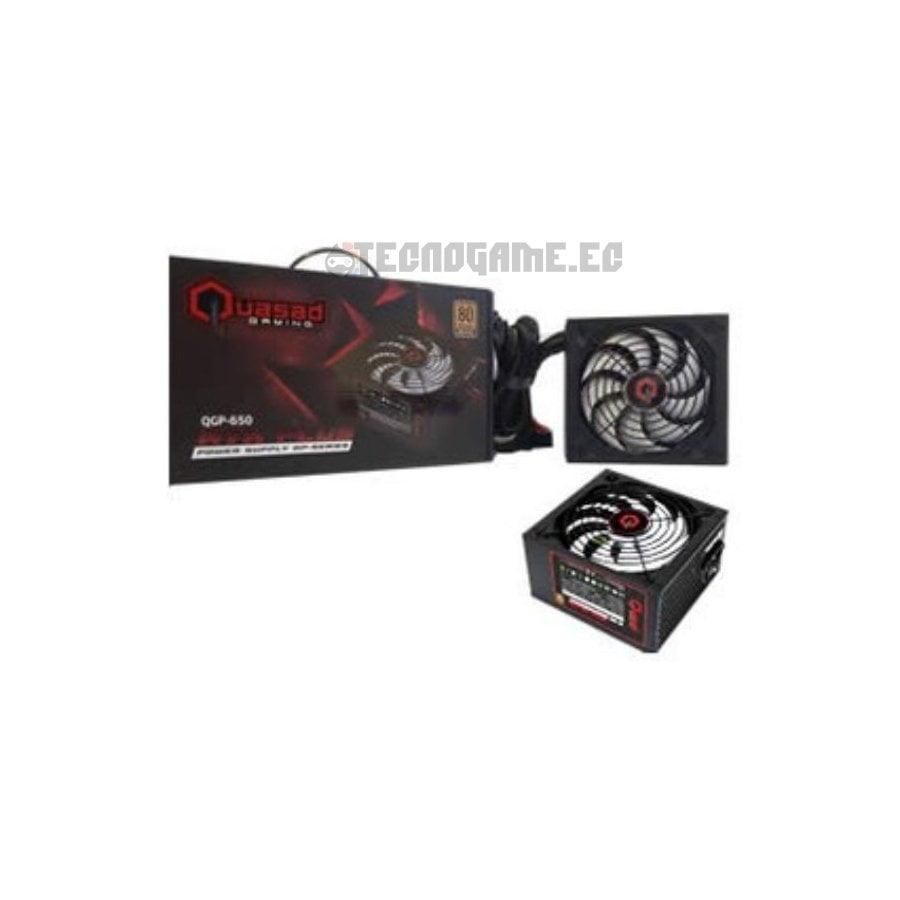 Fuente de Poder Quasad 650w 80+ Bronce