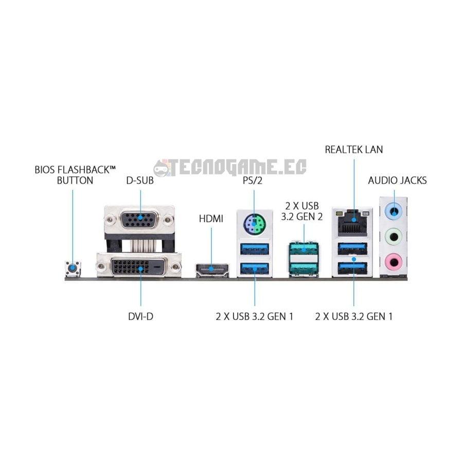 Mainboard B450M-AII asus - 2