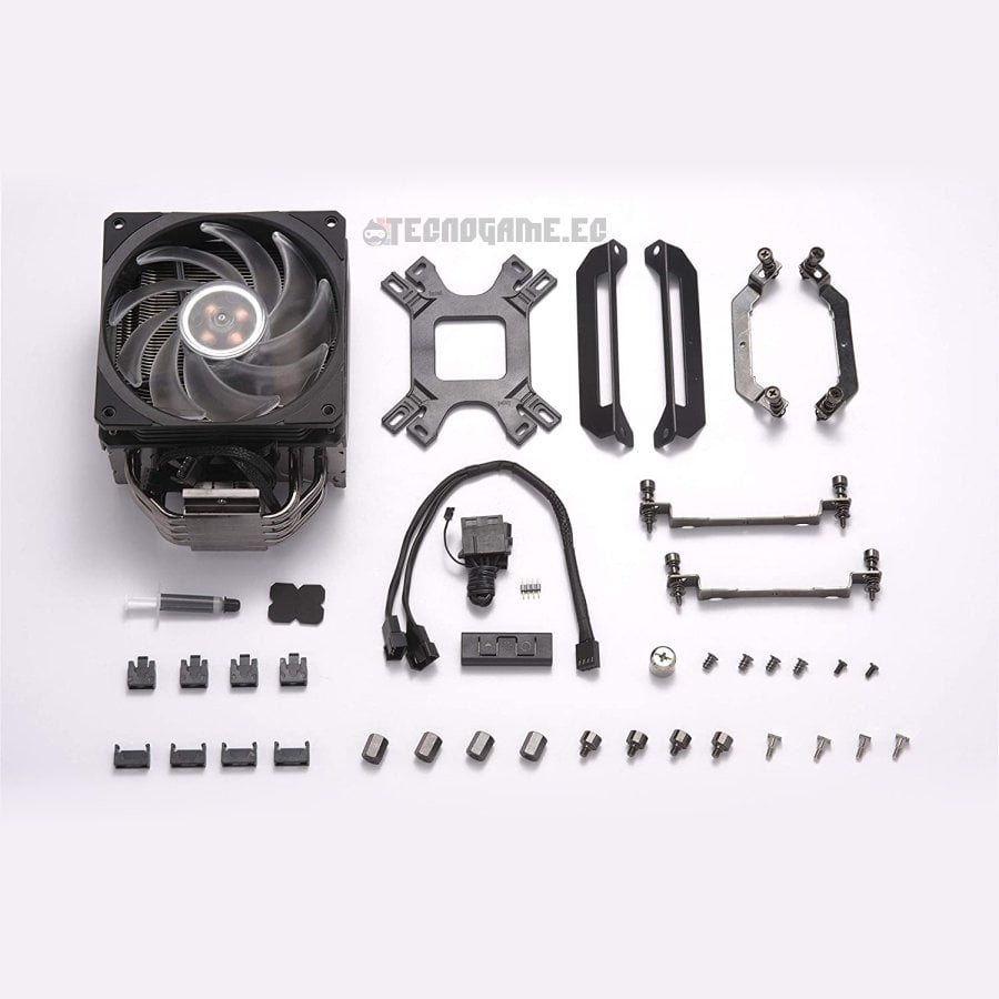 Cooler Master Hyper 212 Black Edition Rgb - 4