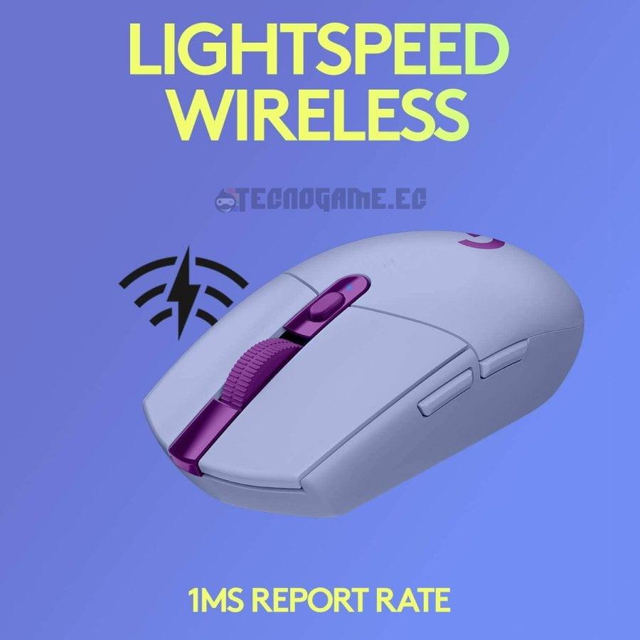 mouse inalambrico g305 lila - 1
