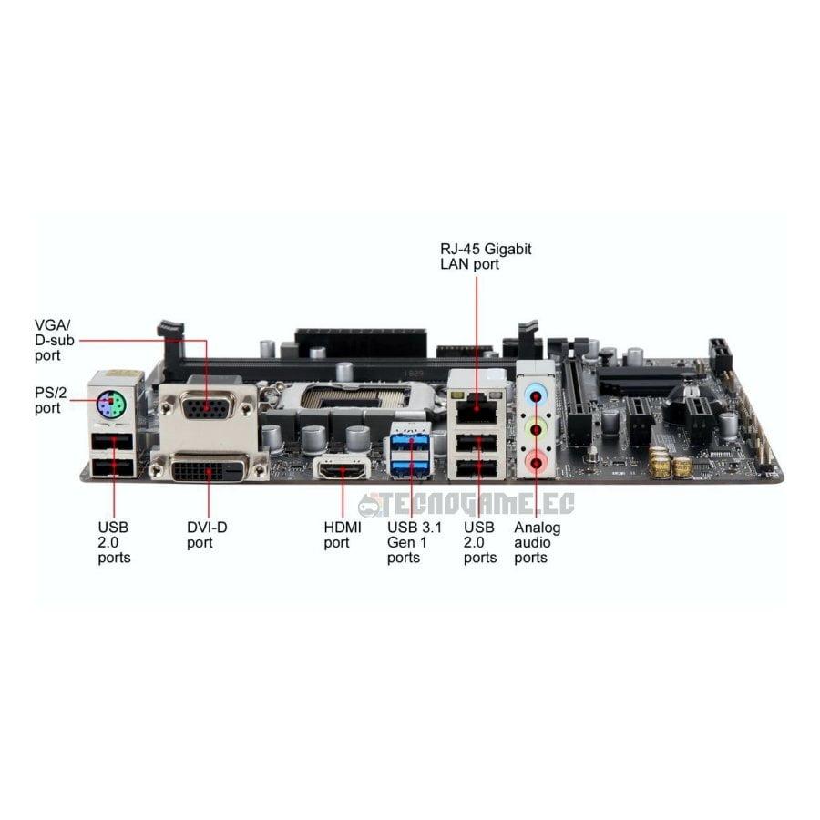 Mainboard Msi H310M-PRO-HDV-PLUS - 3