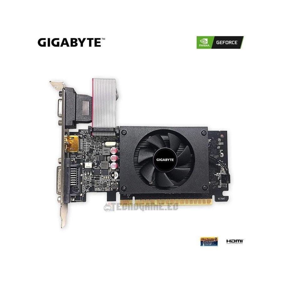 Tarjeta Gráfica Gigabyte GT-710 2GB - 2