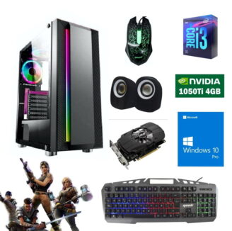 cpu gamer i3 9100f 1050ti 4gb - 1
