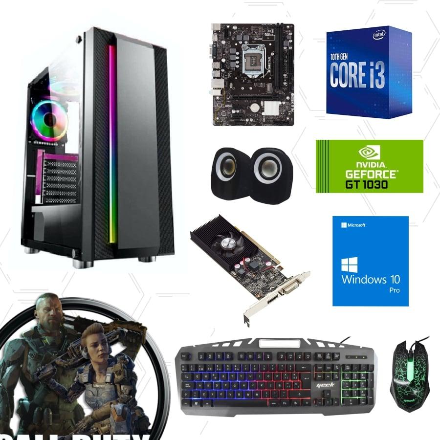 Cpu gamer i3 10100F 1030 - 1