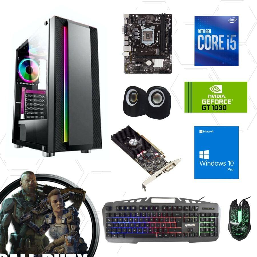 cpu core i5 10ma gt1030