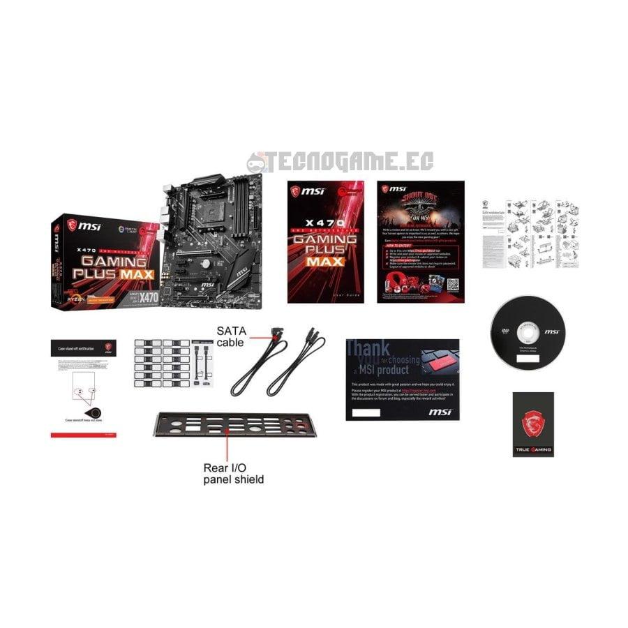 x470 Msi Gaming Plus - 4