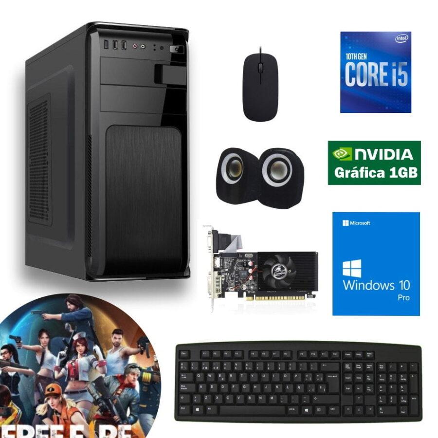 cpu core i5 10ma gt710