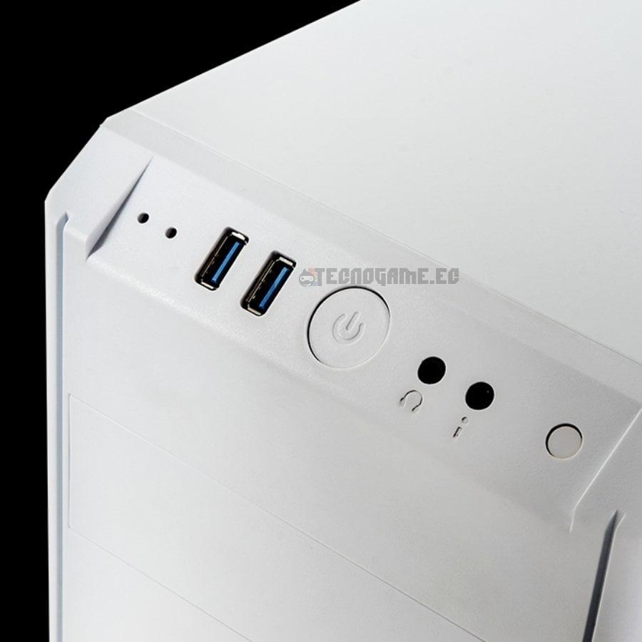 Case Bitfenix Nova Gt White - 3