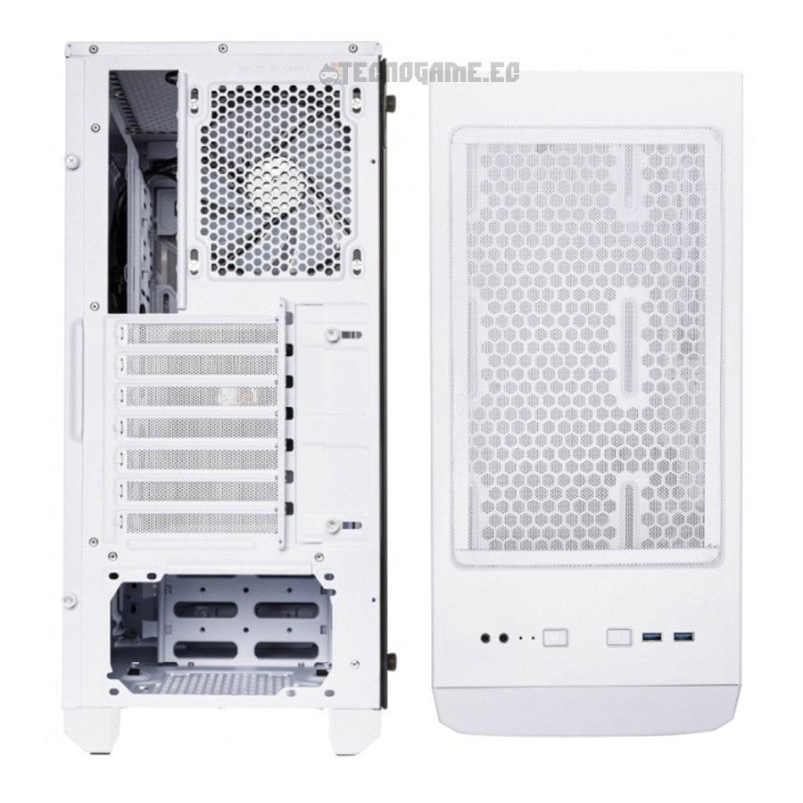 Case Bitfenix Nova Mesh White - 2