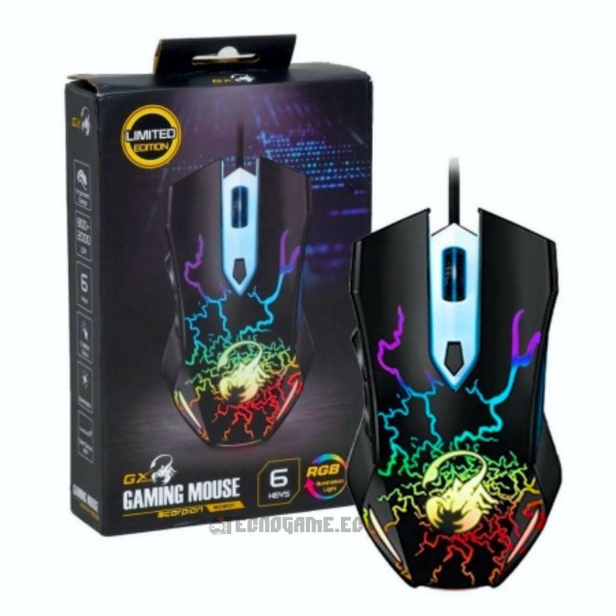 Mouse-Gamer-RGB-Genius-Scorpion-Spear-1